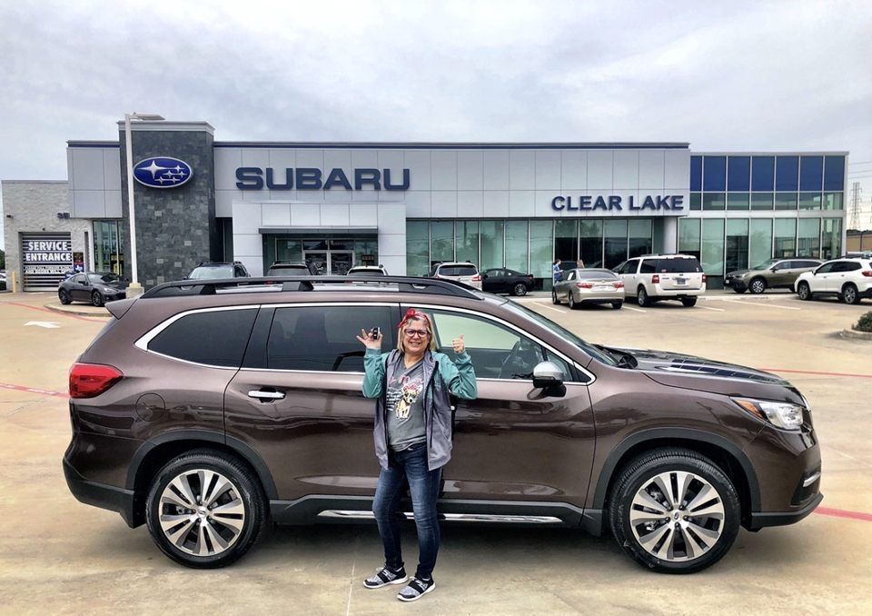 If You Re A Proud New Owner Of A Subaru Raise Your Hands Congratulations To Dale On Her Purchase Of A New Subaru Ascen In 2020 Subaru Subaru Cars Subaru For Sale