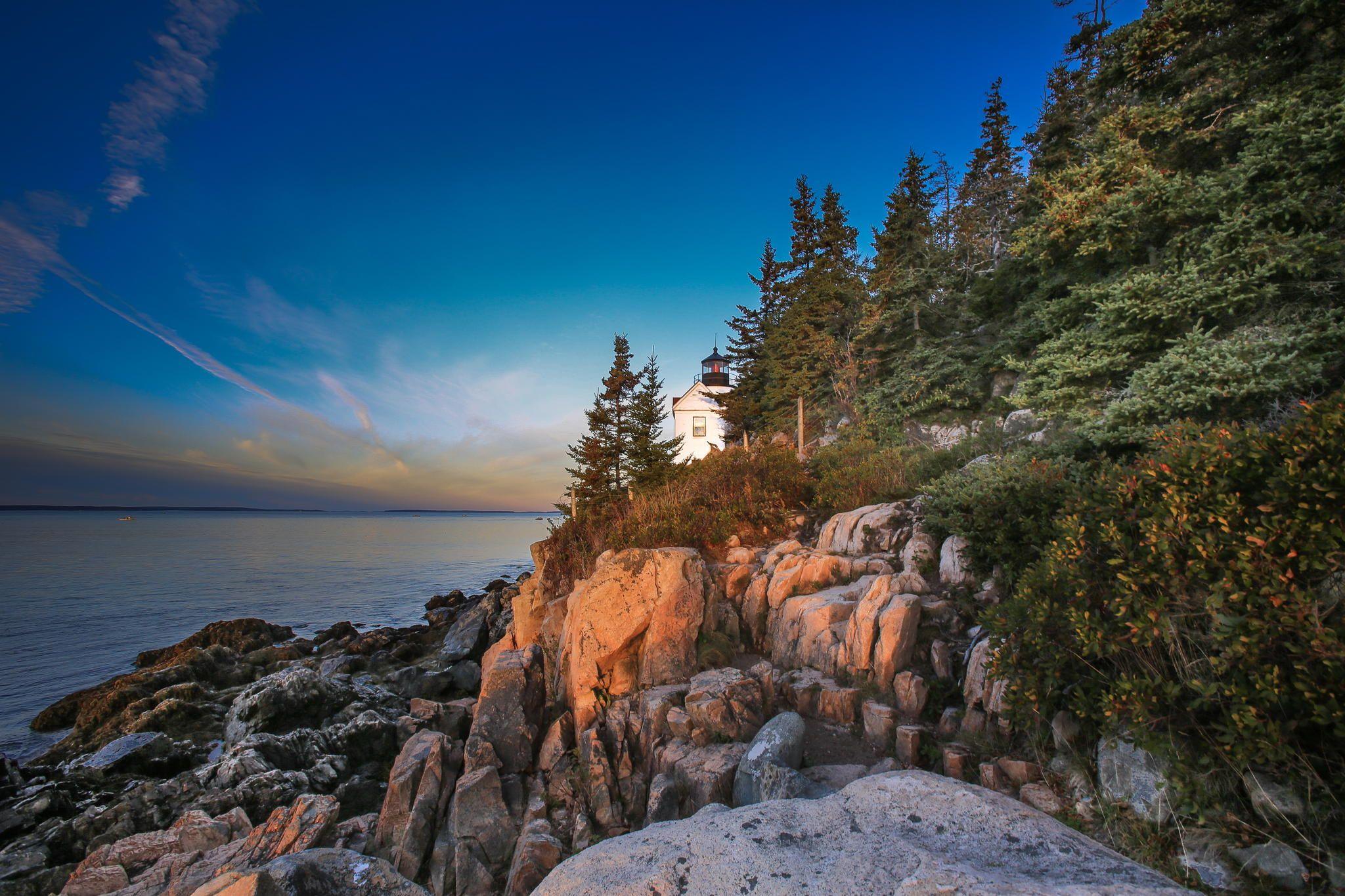 A Maine Morning, Bar Harbor, Maine