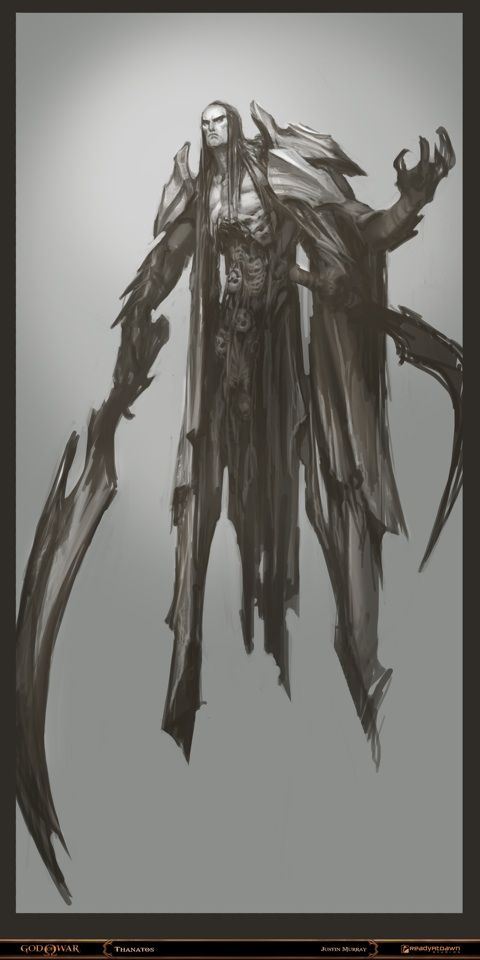 Thanatos from God of War