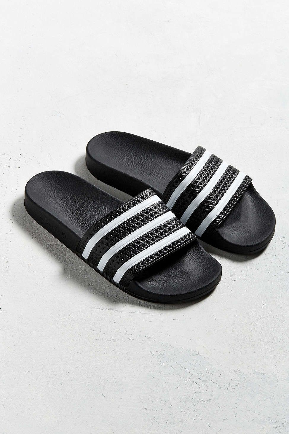 7c6497df8ccb0 adidas Originals Adilette Pool Slide Sandal - would be perfect to slip on  to go take out the trash or run errands!