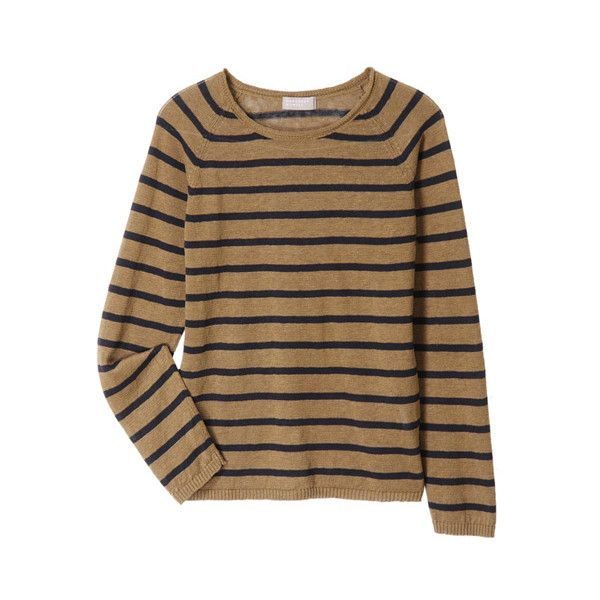 Coarse Linen Knit 100 Liked On Polyvore Featuring Tops