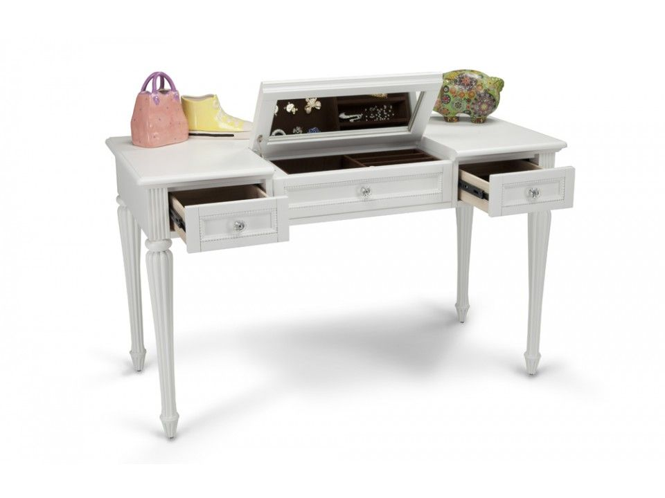 Madelyn Vanity Desk Vanity desk Kids furniture and Vanities