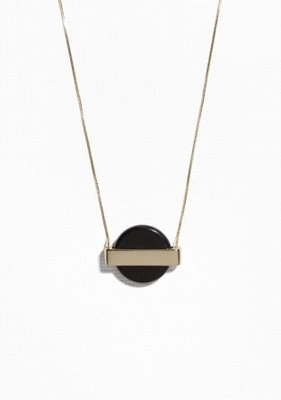 & Other Stories | Medallion Pendant Necklace