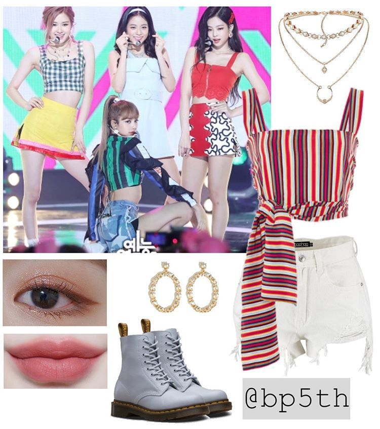 Blackpink Fan Account V Instagram Blackpink On Mbc Music Core August 4 2018 Korean Outfits Kpop Kpop Fashion Outfits Chic Fall Outfits