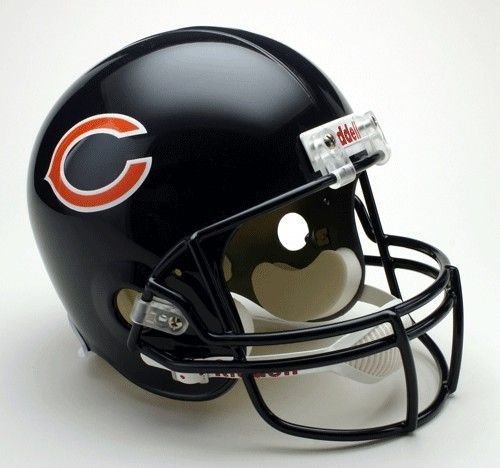 Chicago Bears Riddell Deluxe Replica Helmet Z157-9585598706