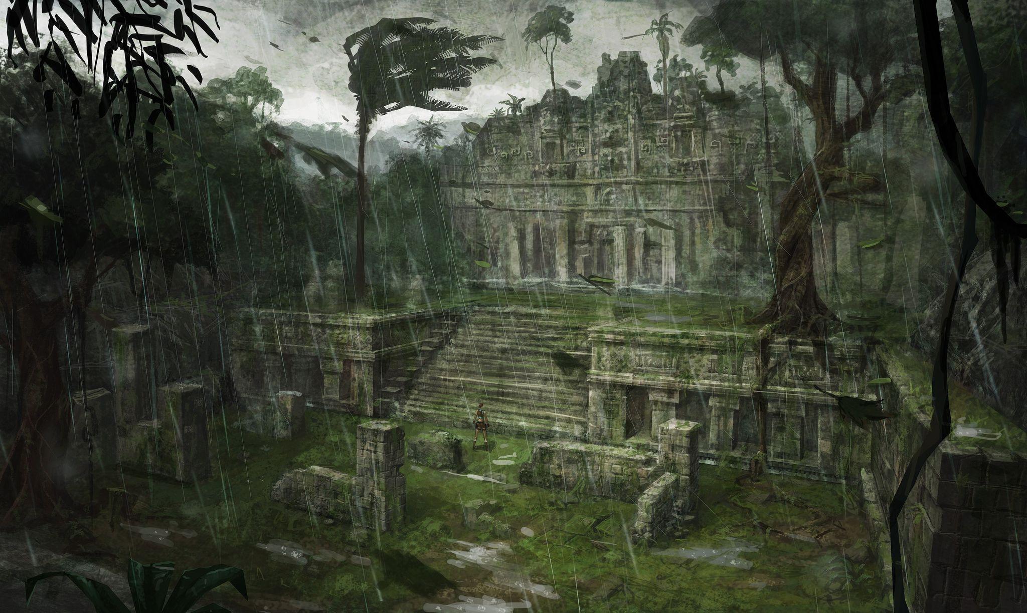 Tomb Raider Underworld 21 Artwork Fantasy Art Landscapes Tomb