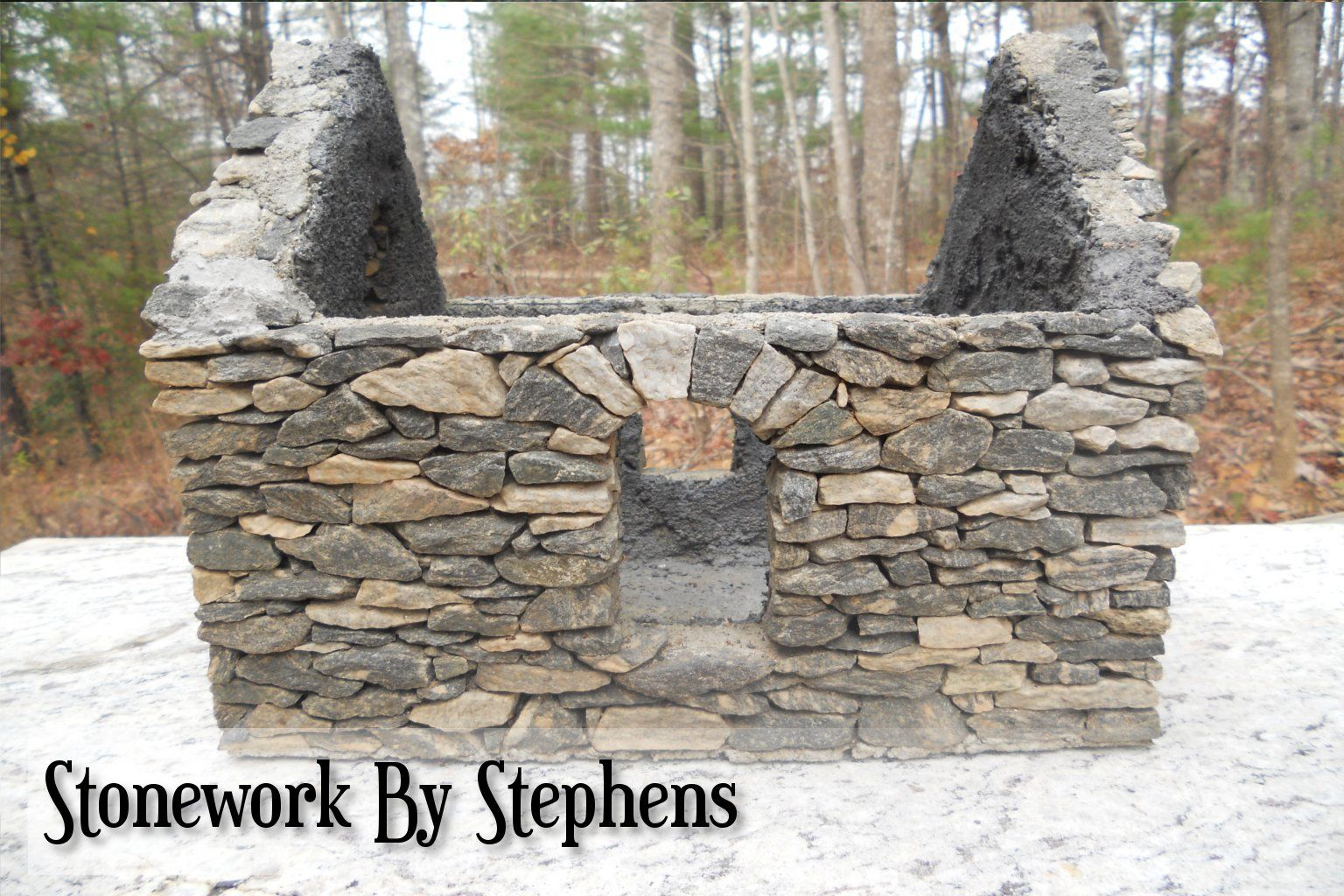How To Build A Miniature Stone House   StoneworkbyStephens