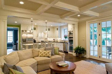 Pin By Lindsey Jones On New House Open Concept Kitchen Living Room Open Concept Living Room Living Room And Kitchen Design
