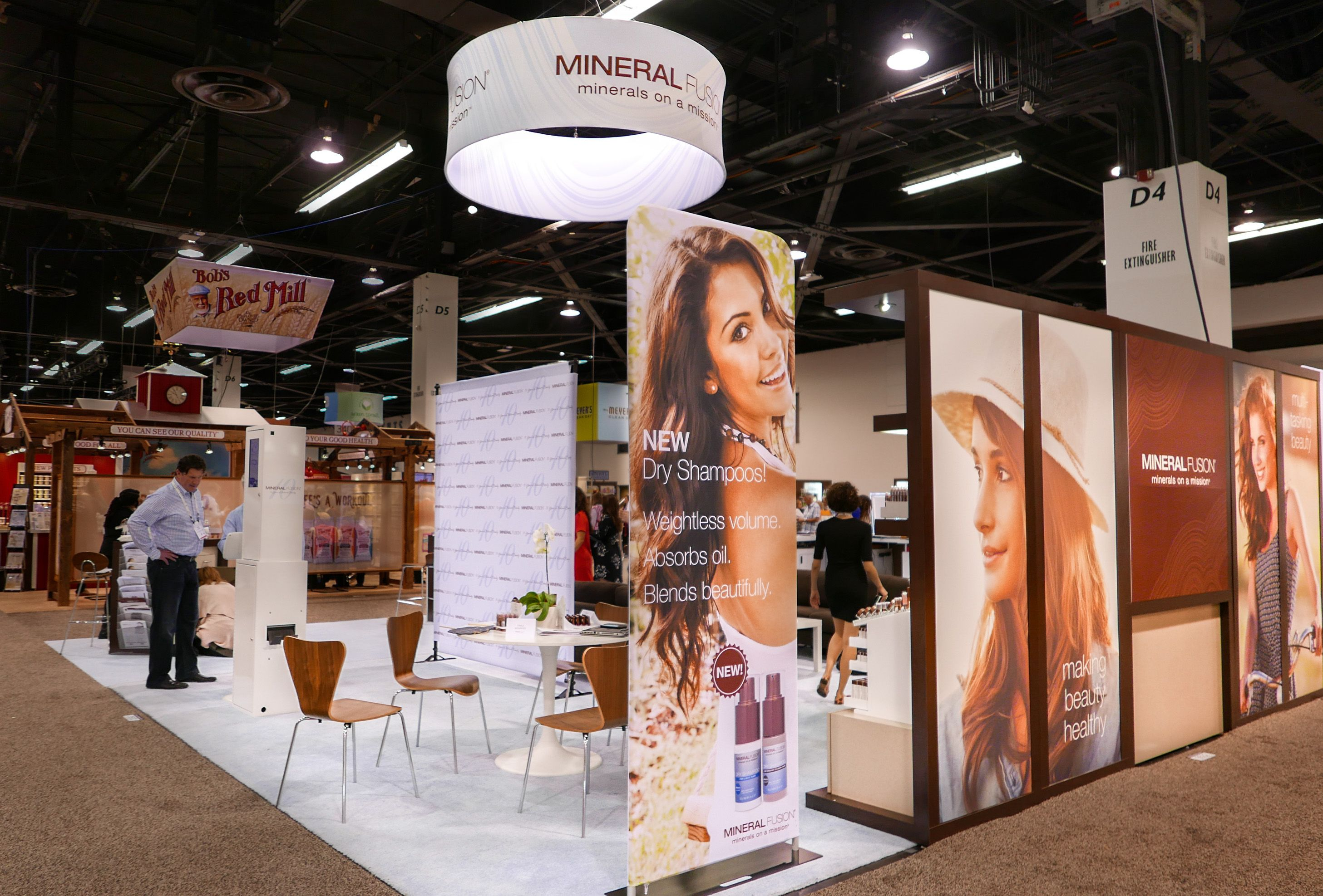 Exhibits And Trade Show Booths Custom Built And Branded Condit Natural Products Expo West Exhibition Expo West