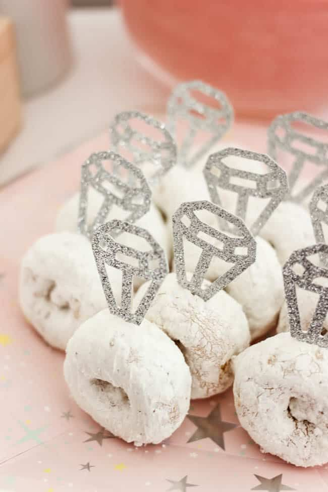 Beautiful Bridal Shower Decorations with Cricut - Love Create Celebrate