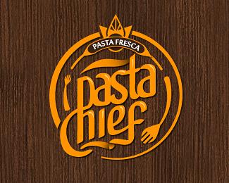 Pasta Chief logo design Desain grafis, Grafis, Desain