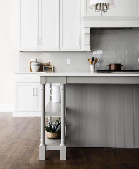 Grey And White Hamptons Kitchen  Blue Tea  * Hamptons Kitchen Amazing Kitchen Design Grey Review