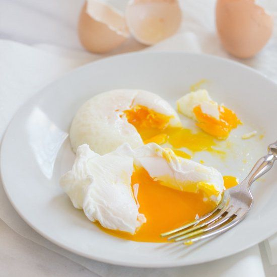 """Four ways to poach an egg—two of them use """"special"""" equipment, and two of them use stuff you probably already have in your house."""