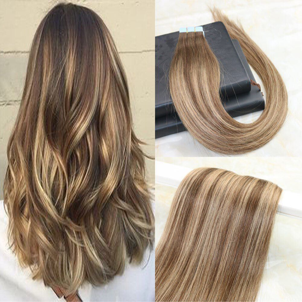 40 Pcs 100 Gram Ombre Balayage Hair Color 4 To Color 27 Mixed