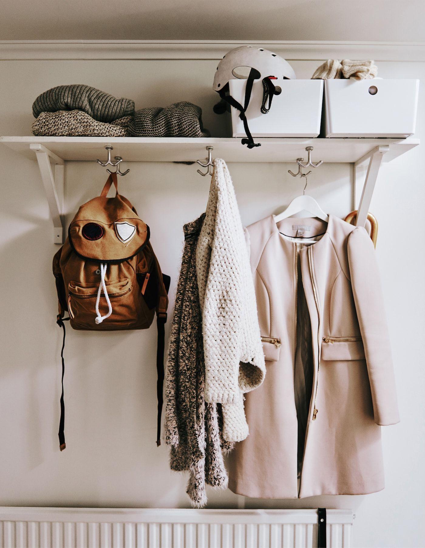 Stauraum Ideen für deine Wohnung: 7 Tipps Ein Wandregal aus