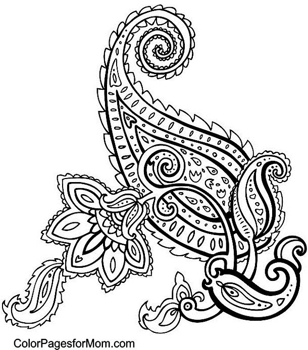 Paisley Design Coloring Pages Paisley 49 Coloring Page Paisley Coloring Pages Paisley Printable Paisley Color