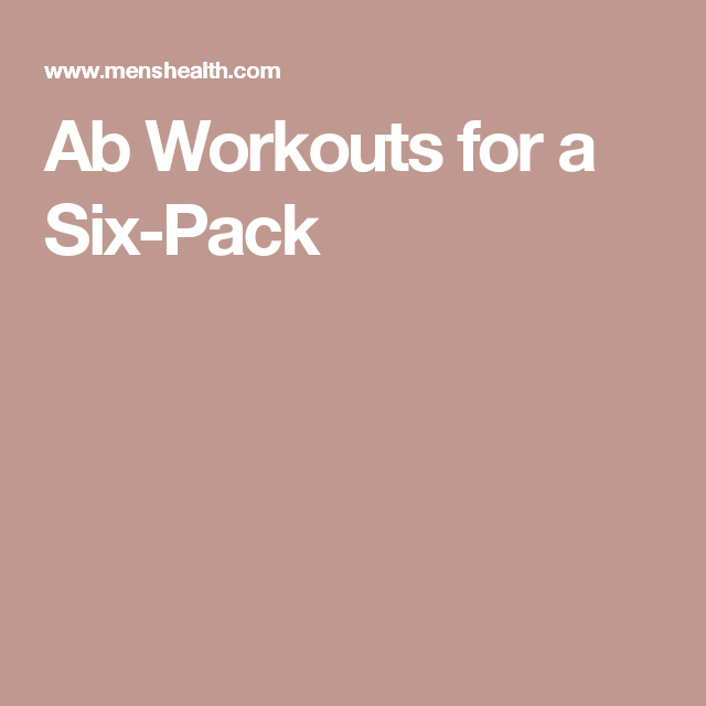 Six Moves to a Six-Pack