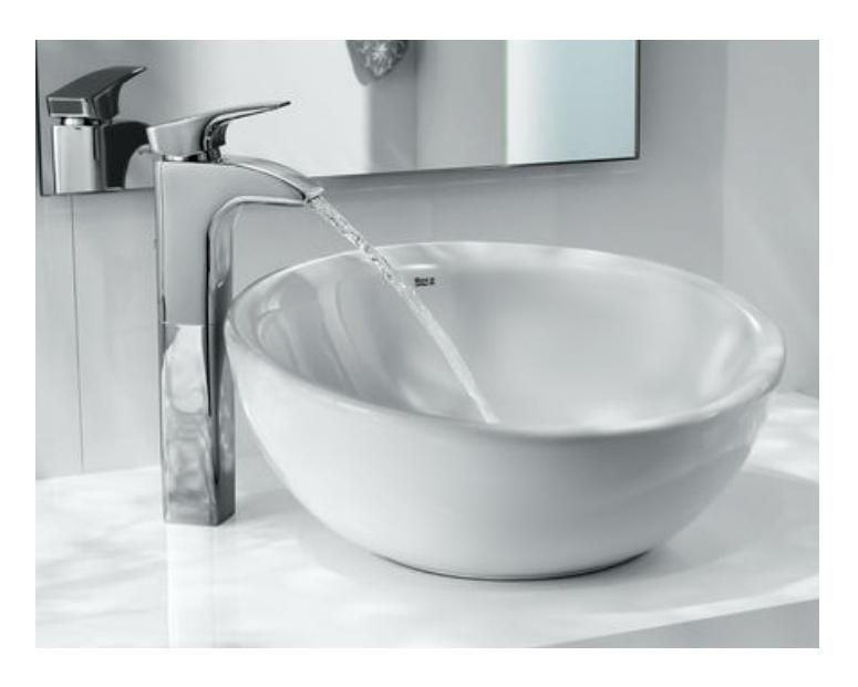 roca round bol ceramic countertop basin - Roca Wash Basin