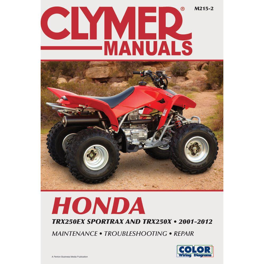 Clymer Honda TRX250EX Sportrax & TRX 250X (20012012