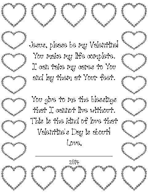 children\'s church valentine\'s day | Christian schools, Sunday ...