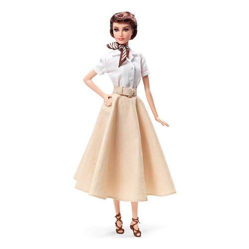 Audrey Hepburn Barbie Roman Holiday Doll U$40