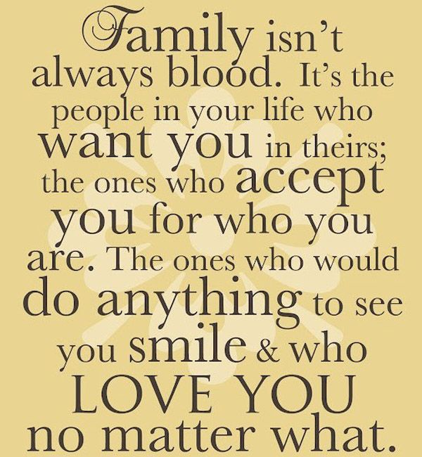 Real Family Family Love Quotes Family Support Quotes Adoption Quotes