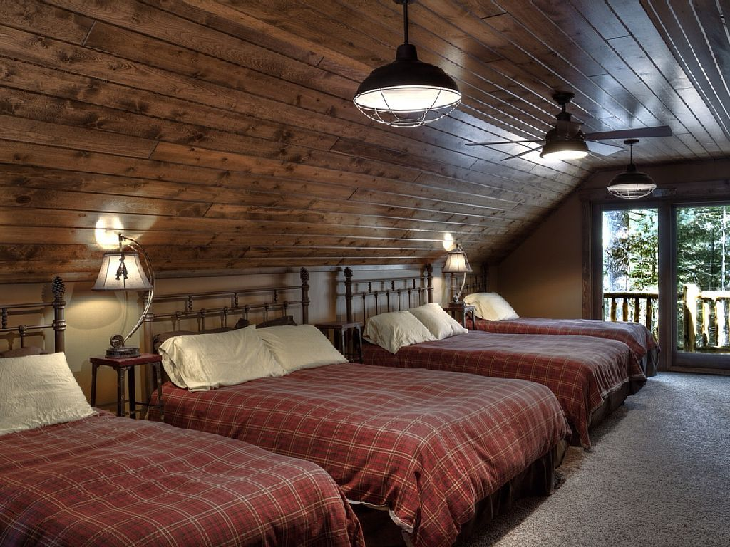 Luxury cabin on the whitefish chain pequot lakes