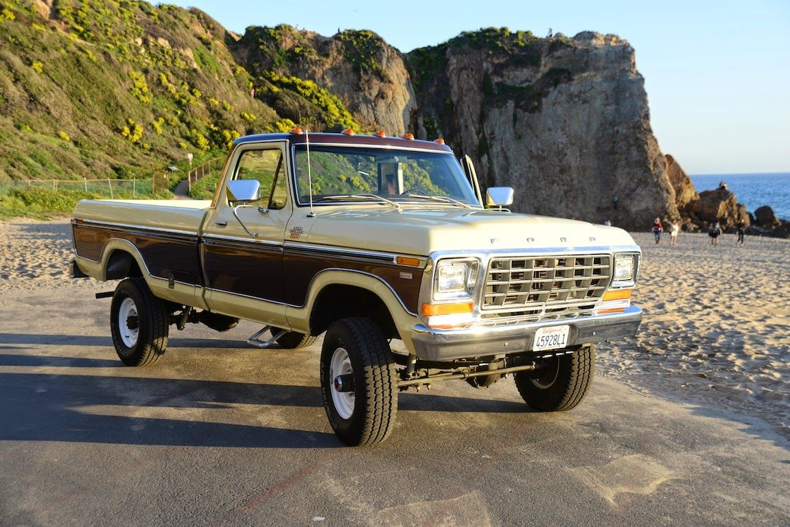 all american classic cars 1978 ford f 250 ranger camper special pickup truck trucks. Black Bedroom Furniture Sets. Home Design Ideas