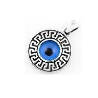 Greek evil eye pendant evil eye amulets pinterest evil eye greek evil eye pendant aloadofball Choice Image