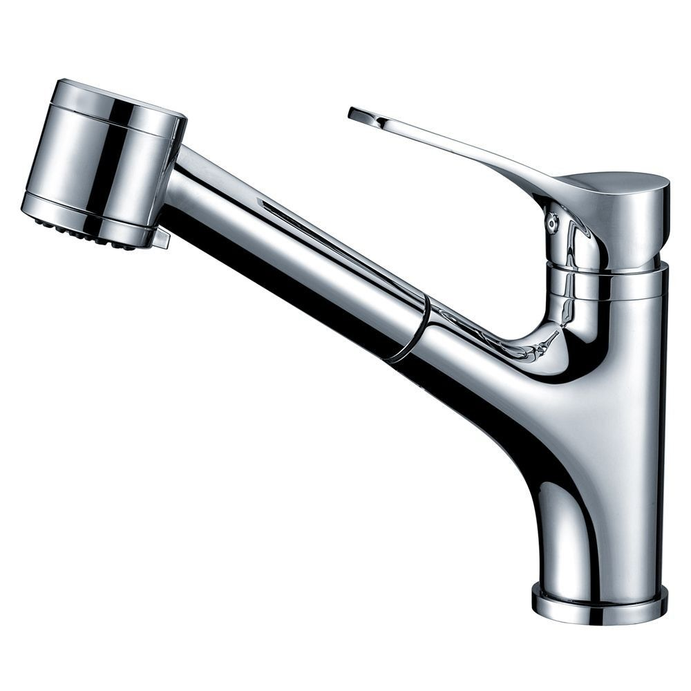 8 75 single lever pull out spray kitchen faucet kitchen faucet rh pinterest com