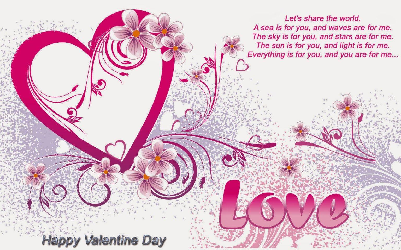Valentines Day Romantic love letter ideas wishes for boyfriend