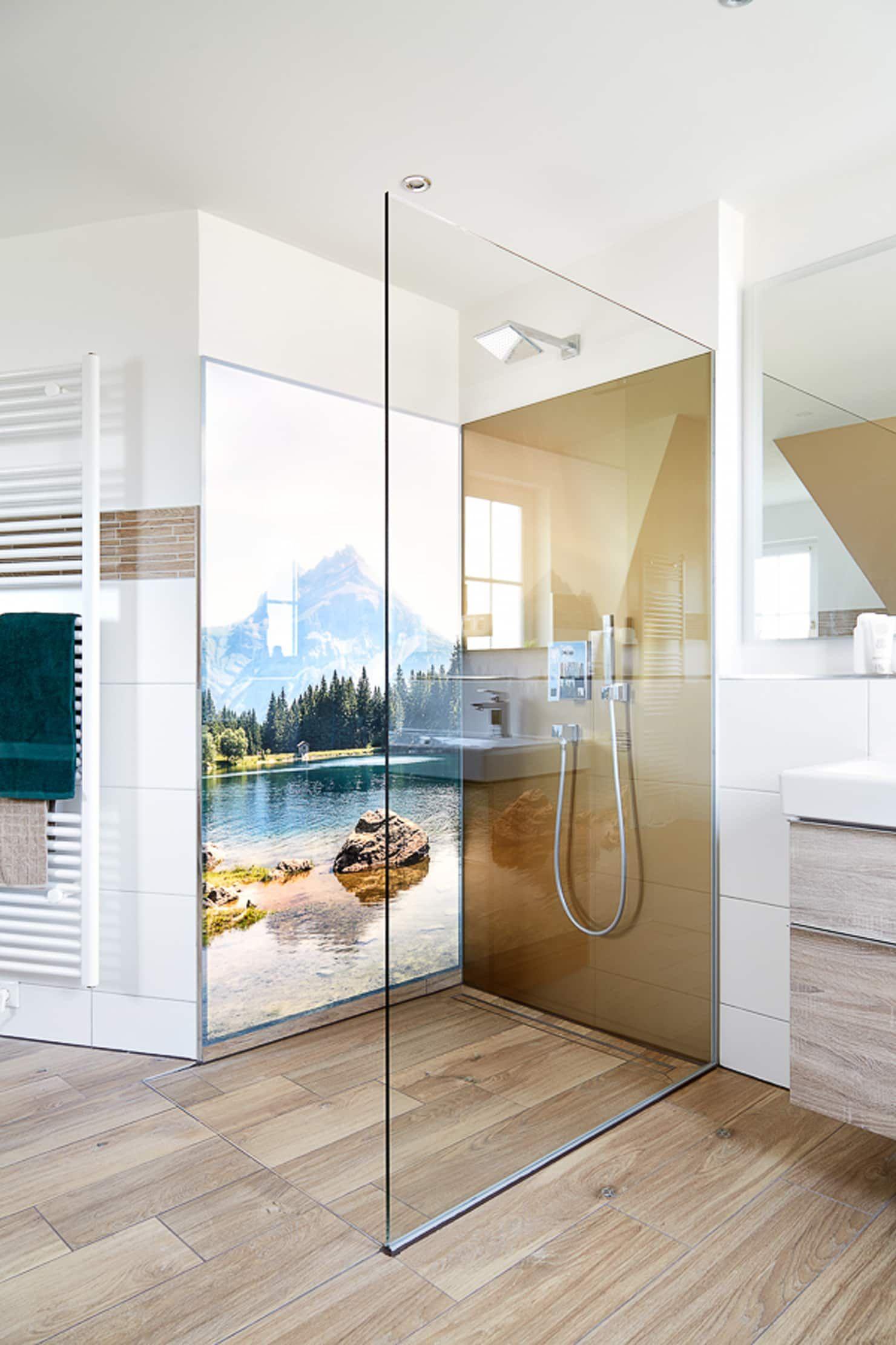 So Holen Sie Sich Die Natur Ins Badezimmer Moderne Badezimmer Von Banovo Gmbh Modern Holz Kunststoff Verbund H Badezimmer Badezimmer Gestalten Bad Einrichten