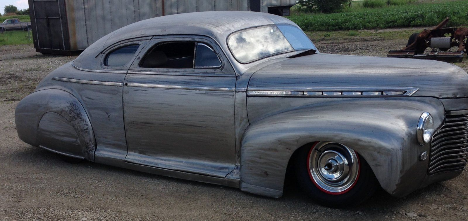 1941 chevy biz coupe chopped and bagged the h a m b