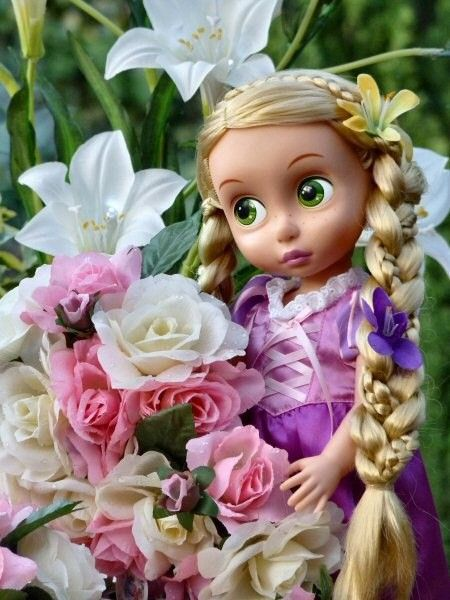 princess doll Rapunzel
