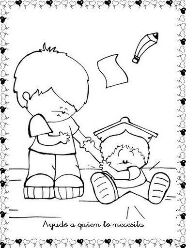 Ninos Pidiendo Perdon Para Colorear Buscar Con Google Kids Printable Coloring Pages Bible Coloring Pages Bible Coloring