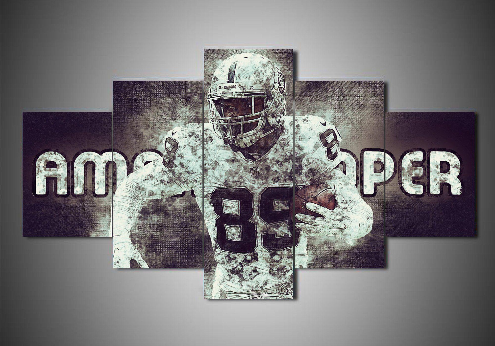 Oakland Raiders Amari Cooper Sport Canvas Wall Art Canvas Wall Art Sport Canvas Canvas Wall Decor