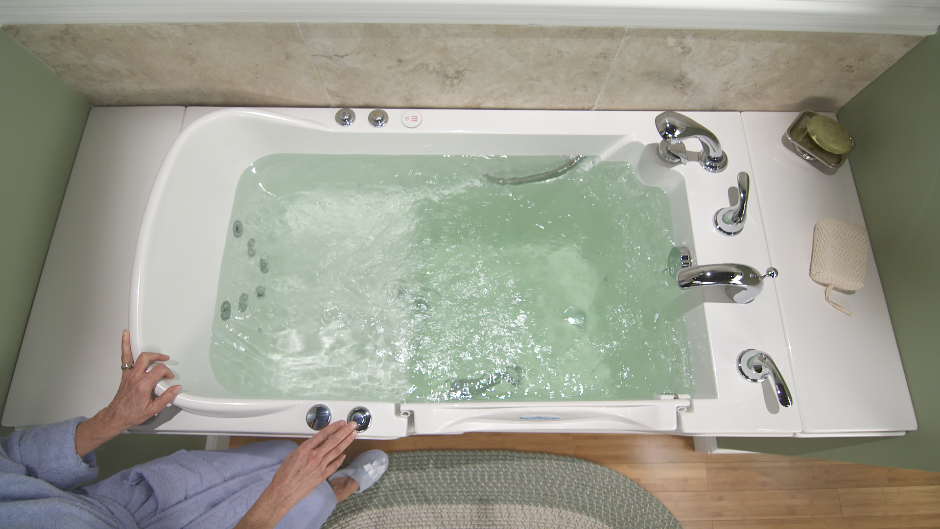 walk in tub with heated seat. All new features on the 2014 Safe Step Walk In Tub include a heated