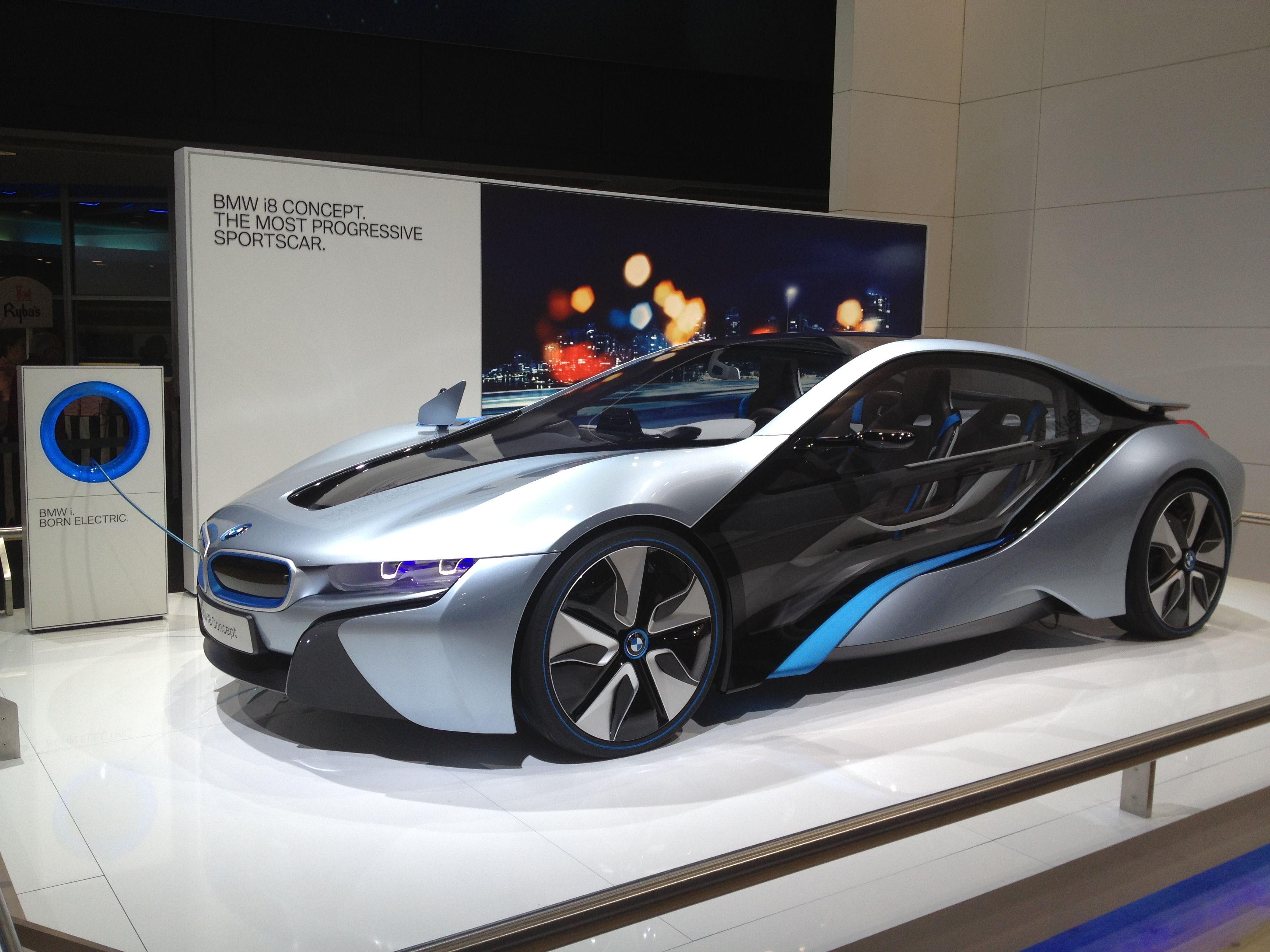 BMW's concept car, electric sports car. Eng.07.Harmonía