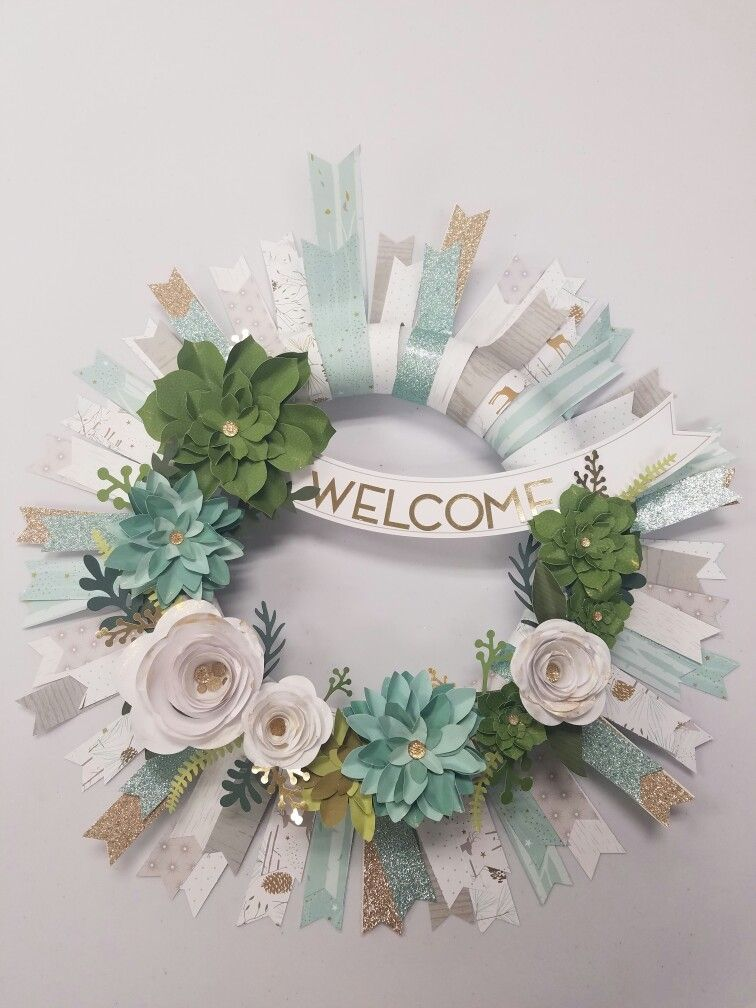 welcome home national paper crafting month special.. just add some oh deer paper and gold being for a different take! www.scrappyladiesatplay.blogspot.com