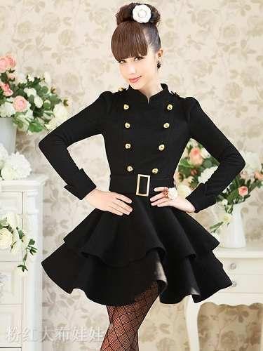 Vestidos feminino moda barbie