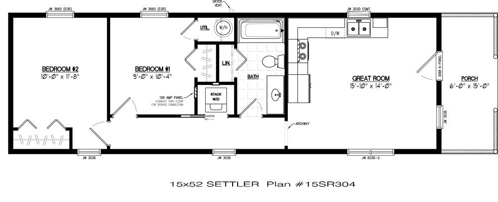 Settler Log Cabin Pricing | Floor Plans | Zook Cabins | Tiny