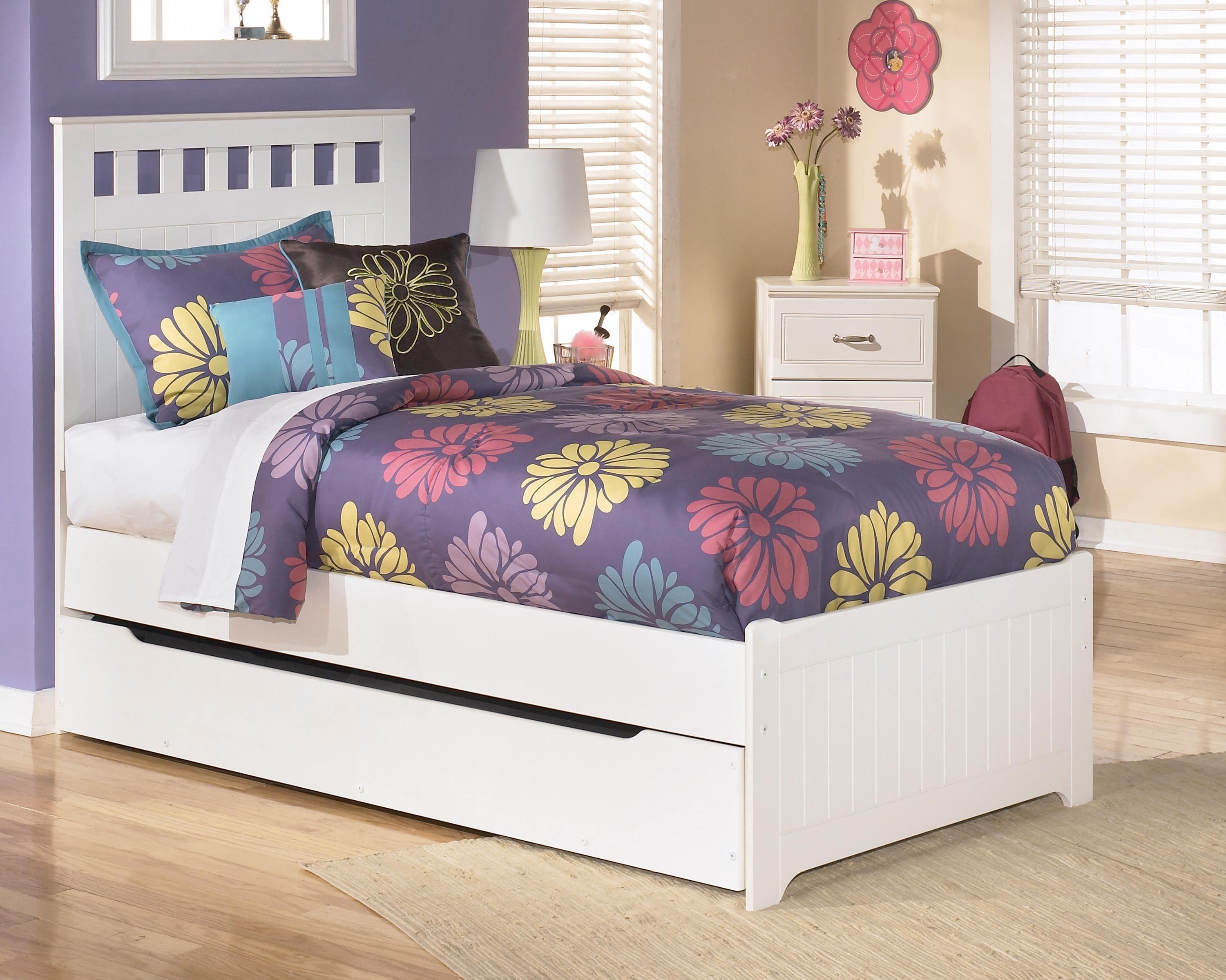 Best Lulu Twin Bed With Storage Trundle By Signature Design By 400 x 300