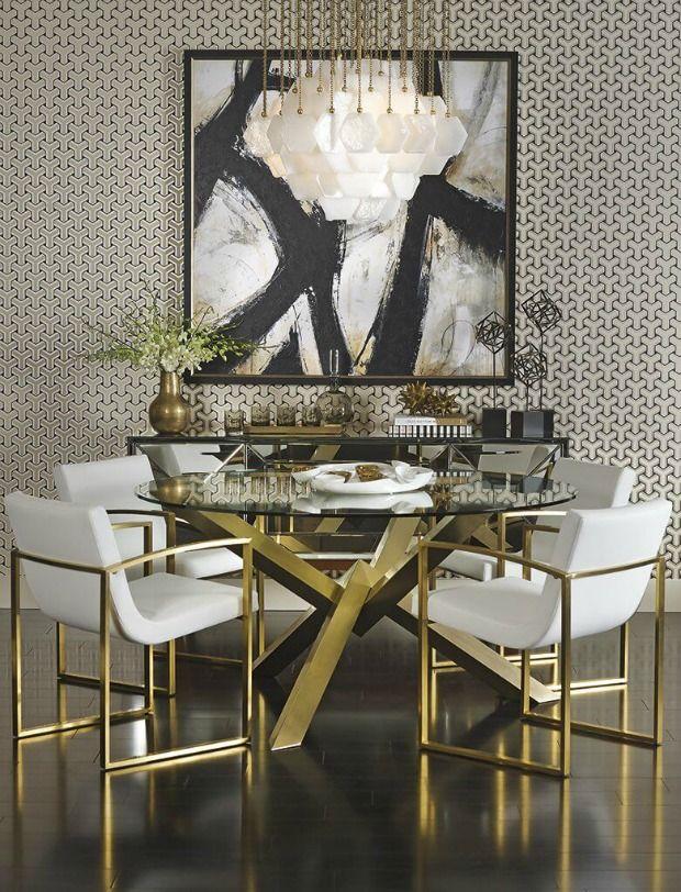 Marvelous Interior Design Trend: Art Deco Style Decor   Decorating With Wallpaper U0026  Wall Stencils