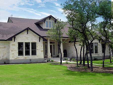 Plan W3041D: Country, Hill Country, Corner Lot, Photo Gallery House Plans & Home Designs