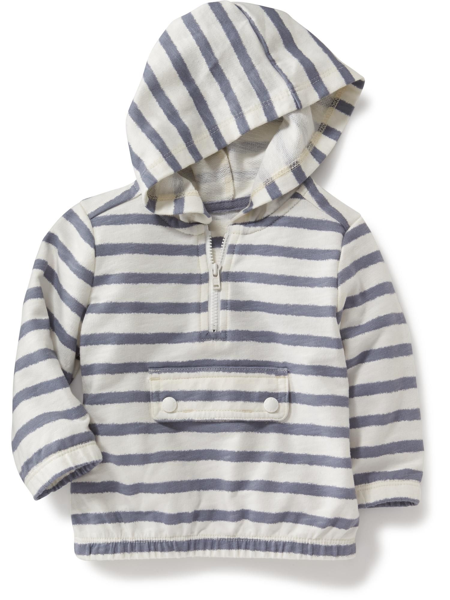 Quarter Zip French Terry Hoodie For Baby Old Navy Toddler Boy Outfits Baby Boy Jackets Boy Outerwear [ 2000 x 1500 Pixel ]