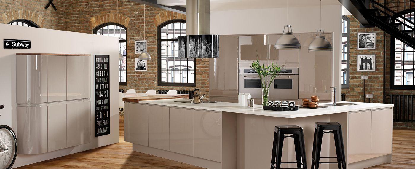 Pin by Jewson on Jewson Kitchens   Kitchen design, Cashmere gloss ...