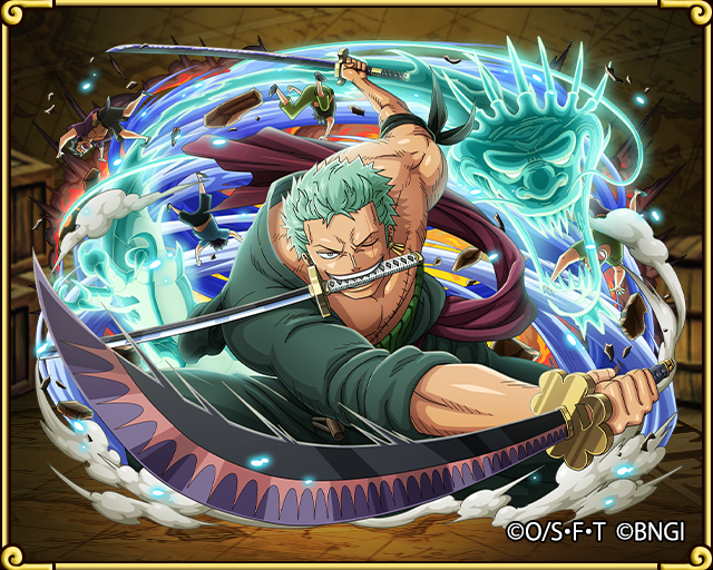 Pirates De Chapeau De Paille Roro Zoro Roronoa Born Again One Piece Treasure Cruise Wiki Fandom Aliment Zoro One Piece One Piece Tattoos One Piece Drawing