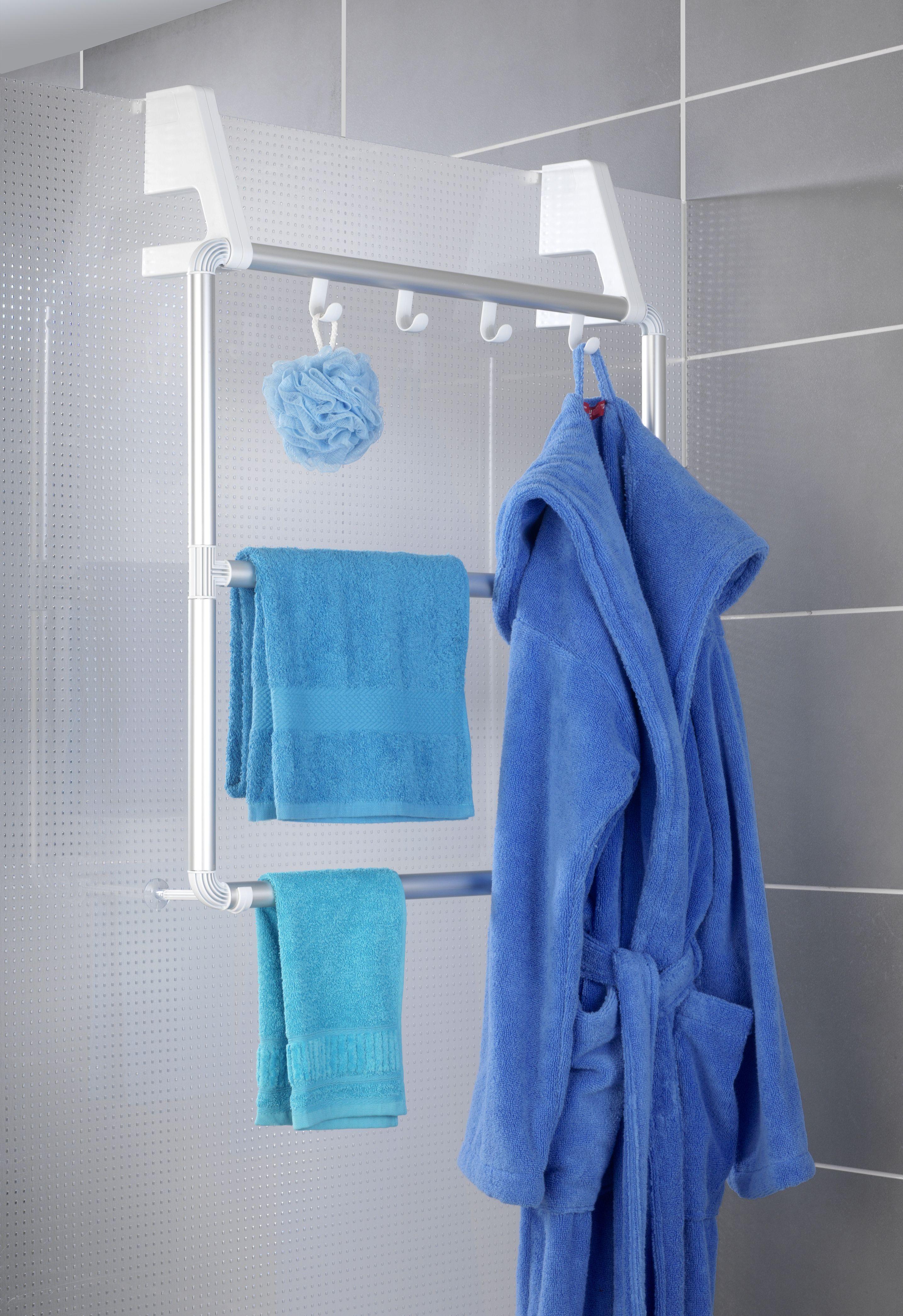 Handtuchhalter Fur Tur Und Duschkabine Compact 2 Handtuchhalter