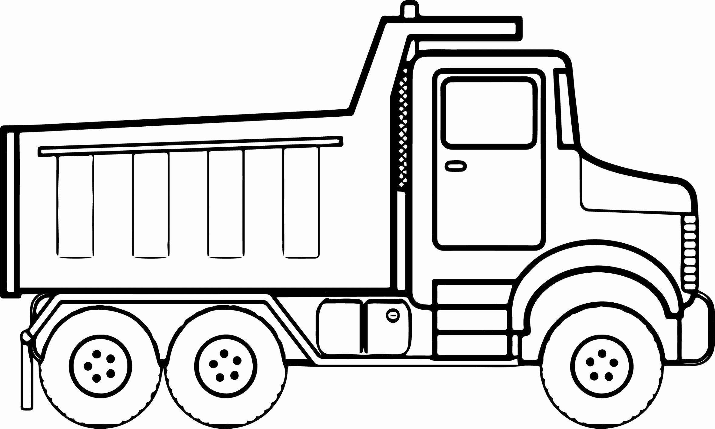 Garbage Truck Coloring Sheet Elegant New Preschool Truck Coloring Sheets Cleanty Buku Mewarnai Warna Truk