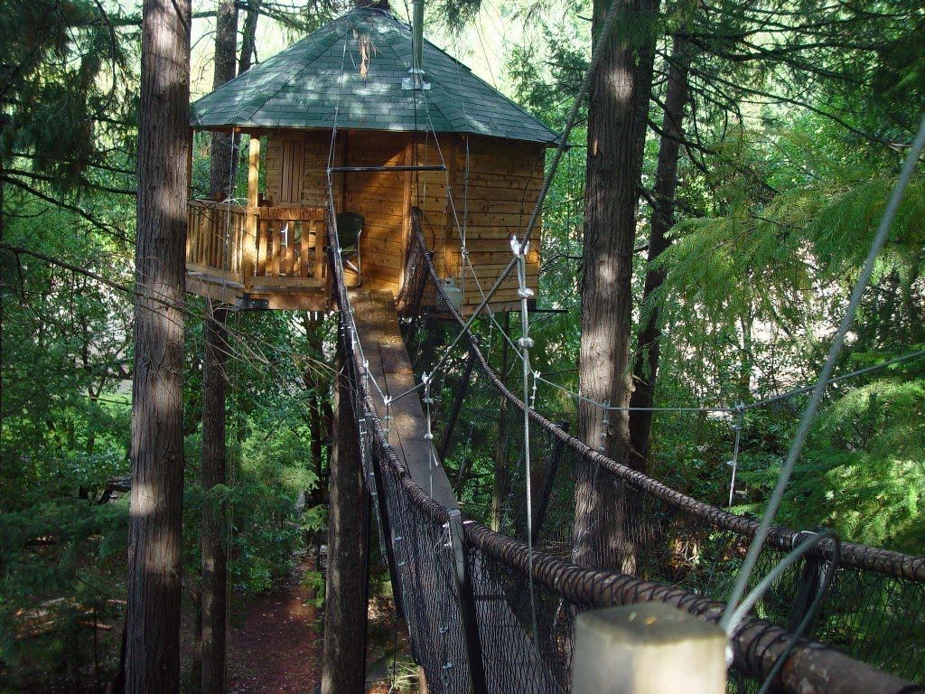 The Most Kick Oregon Treehouse You Ve Ever Seen Is Right Here